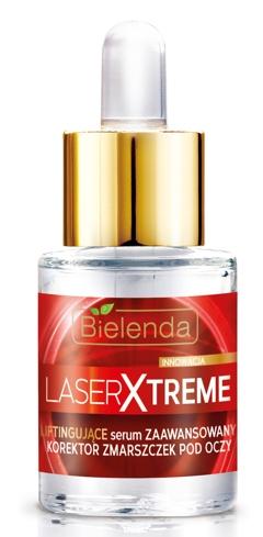 liftingujące serum pod oczy  Bielenda Laser Xtreme.