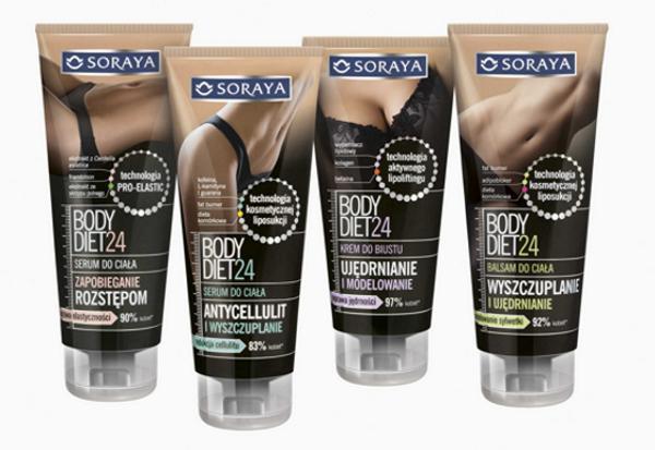 Soraya, Soraya Body Diet, kosmetyki wyszczuplające