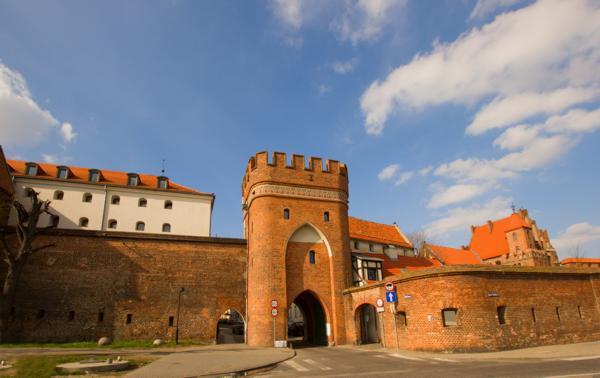 brama mostowa Toruń