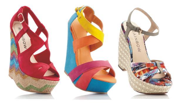 buty na koturnie, modne buty