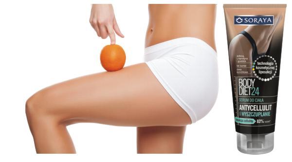 jak walczyć z cellulitem, Soraya Body Diet