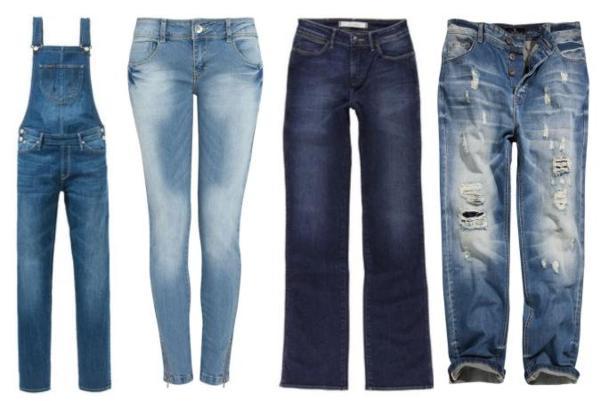 przegląd jeansów