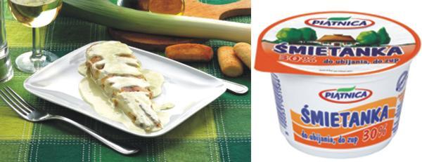 karp w sosie śmietanowo-grzybowym