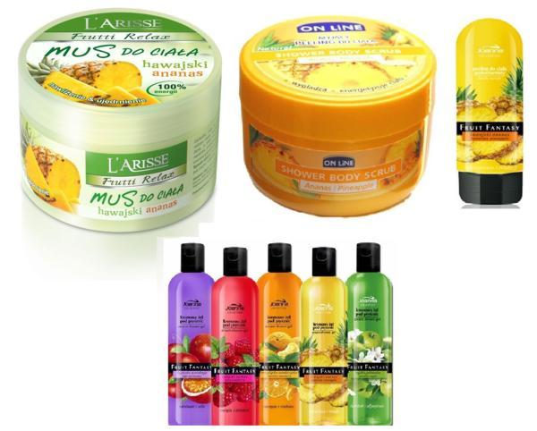 kosmetyki z ananasem