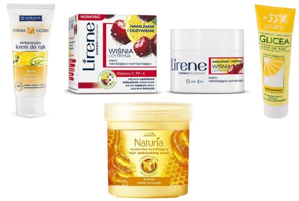 kosmetyki z cytryną