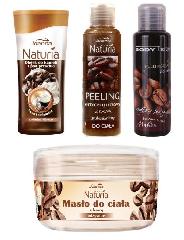 kosmetyki z kawą
