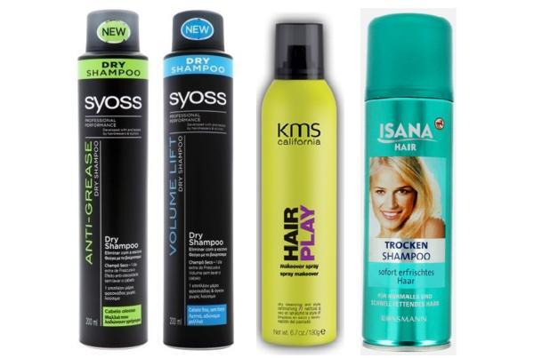 suchy szampon, jak używać suchego szamponu