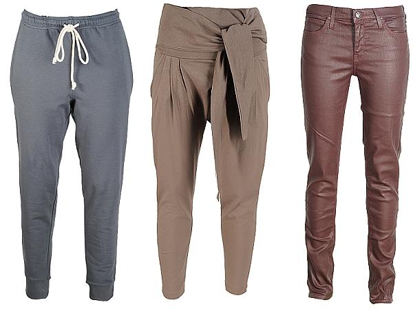 Nie tylko jeansy przegląd spodni na jesień i zimę