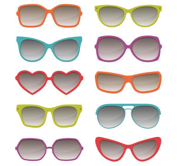 okulary słoneczne; kształt twarzy