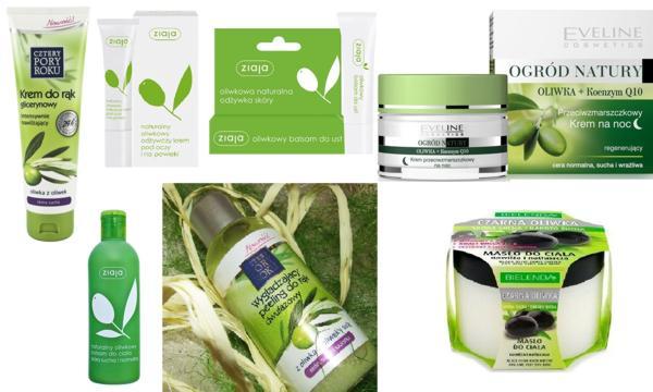 kosmetyki z oliwą z oliwek