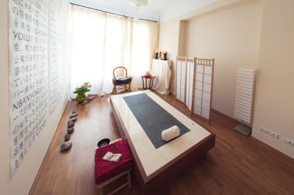 Ganbanyoku, sauna, zabieg na łóżku ganbanyoku