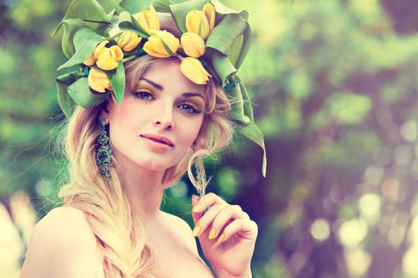 rośliny w pielęgnacji włosów