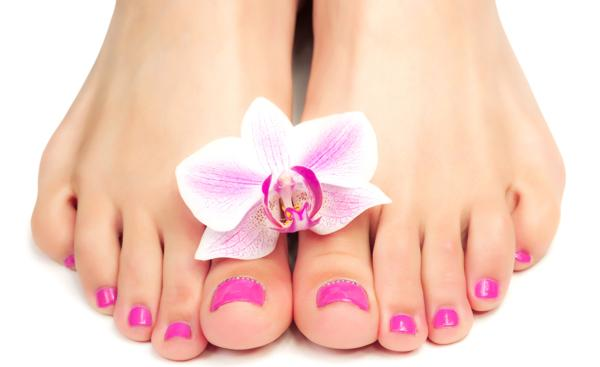 pedicure, jak pomalować paznkokci u nóg