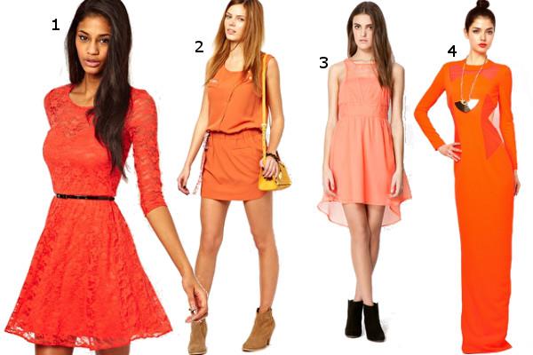 fa1f2faac3 Nasze propozycje  1. pomarańczowa koronkowa sukienka Asos ok. 190 zł