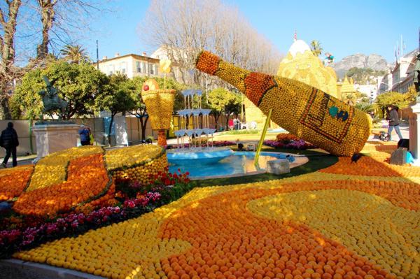 święto cytryny menton, festiwal fiołków