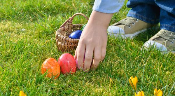 tradycje wielkanocne, egg hunt, angielskie tradycje wielkanocne