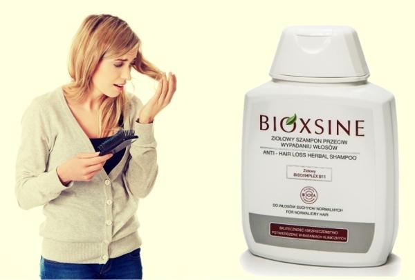 wypadanie włosów u kobiet; Bioxine
